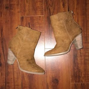 Just Fab Ronny Booties 8.5